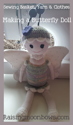 Making a Butterfly Doll