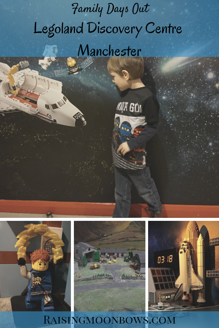 family days out - Legoland discovery centre manchester - pin