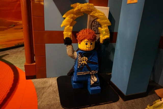 Family Days Out - Legoland Discovery Centre Manchester - ninjago