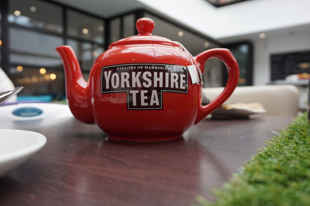 Yorkshire Afternoon Tea at the doubletree by hilton - teapot