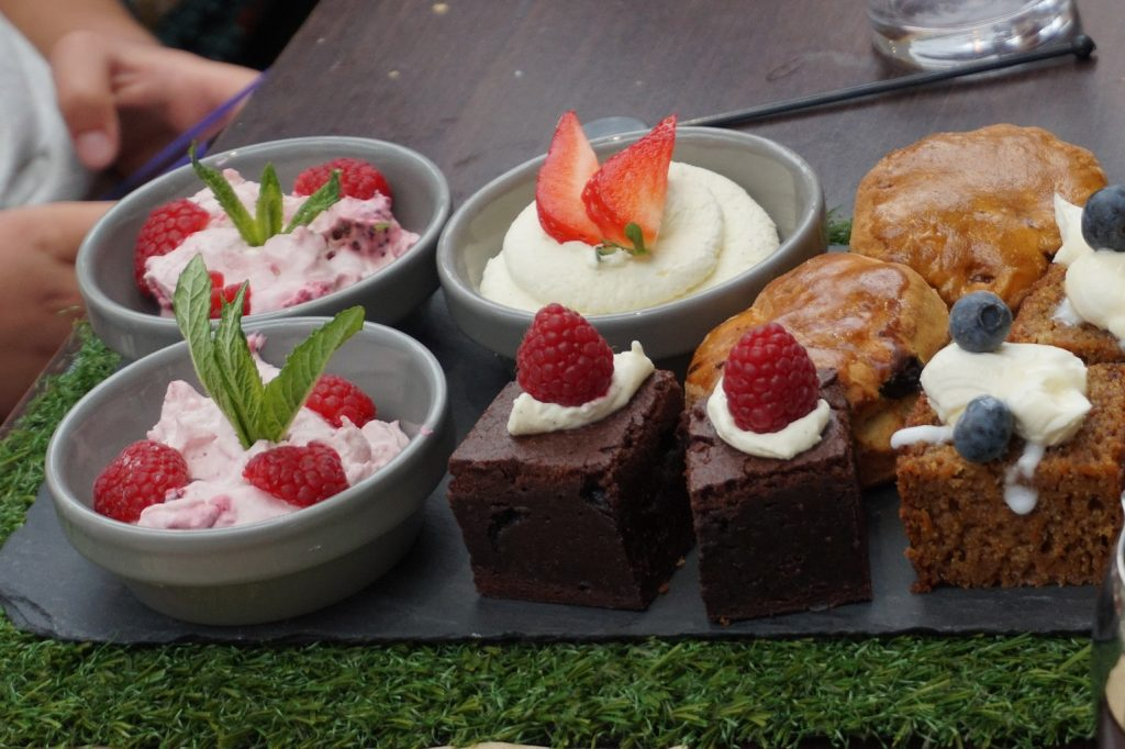 Yorkshire afternoon tea at the doubletree by hilton -dessert