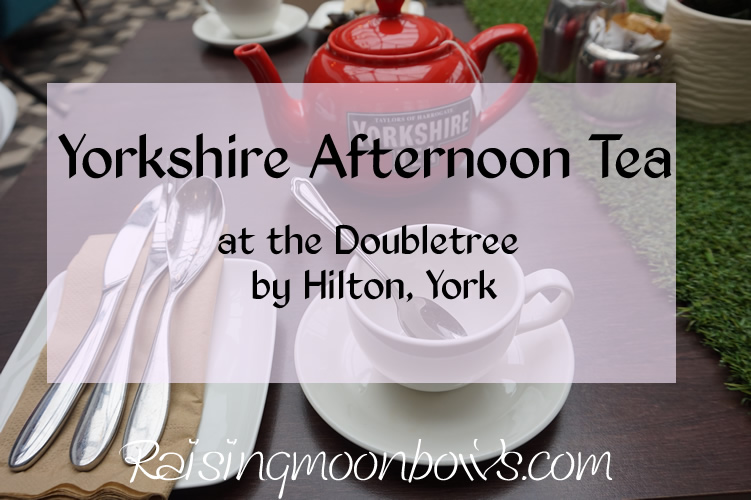 yorkshire afternoon tea at the doubletree by hilton - feature image