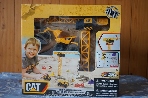 CAT Mini Machines PlaySet Review