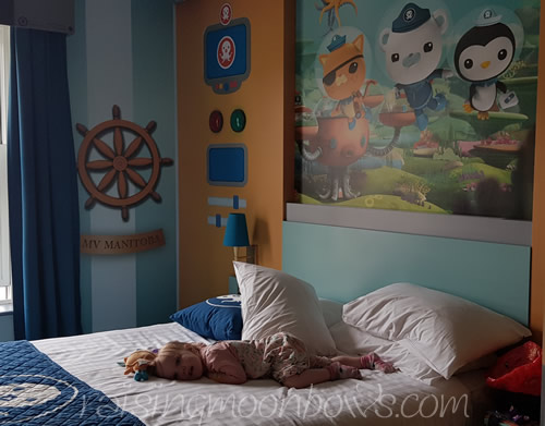 Staying at Cbeebies Hotel Alton Towers - Main bed